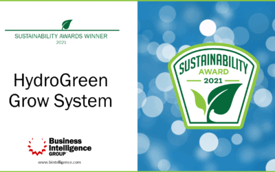 """HydroGreen Wins """"Sustainability Product of the Year"""" in Global Sustainability Awards"""